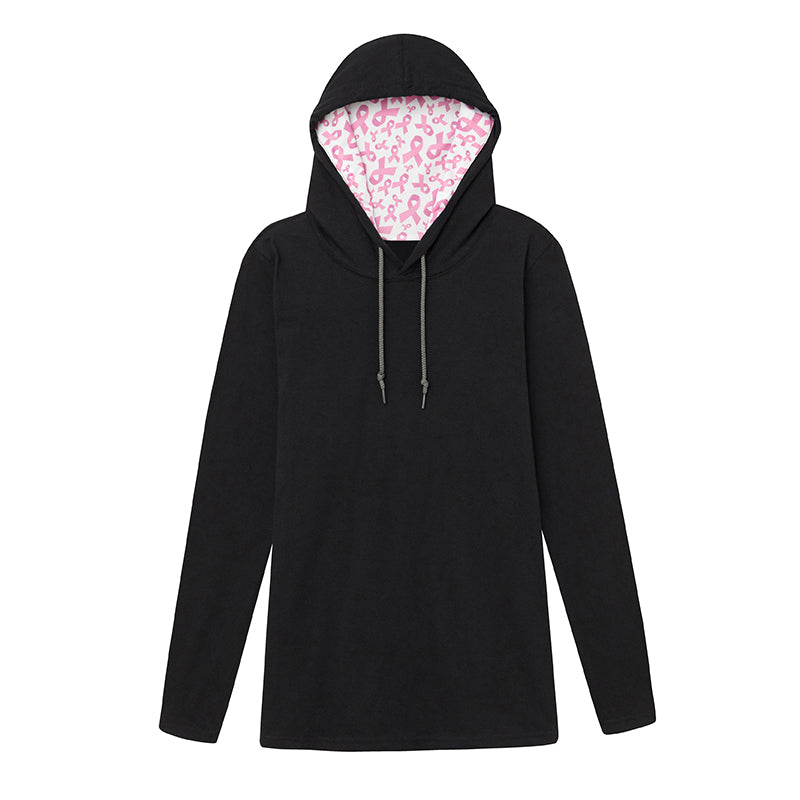 Think Pink Hooded Tee