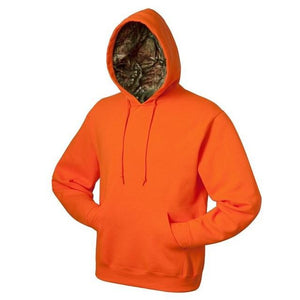 Pullover Sweatshirt with Mossy Oak Break-Up Infinity Hood (MO185)