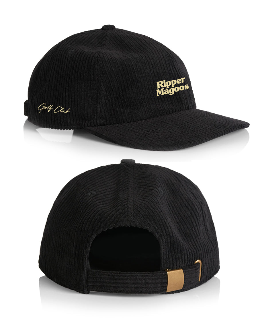 RIPPER MAGOOS <br>GOLF CLUB CORDUROY (BLACK)
