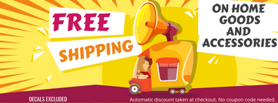 FREE Shipping On Accessories & Home Goods