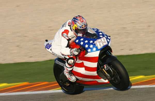Nicky Hayden on Ducati MotoGP