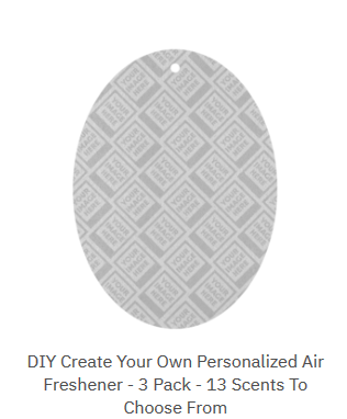 Personalized Air Freshener DIY Step by Step Instructions