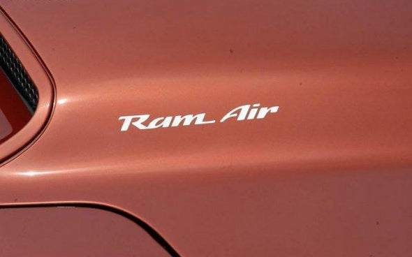 Pontiac Firebird Trans Am Ram Air Replacement Hood Decals - Custom Die Cut Vinyl Decal Graphics #decals