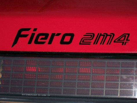 2M4 Trunk Decklid Decal Fits Pontiac Fiero