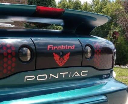Rear Tail Light Decal Fits Pontiac Firebird 1998-2002 + Screaming Chicken