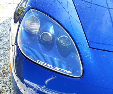 Headlight Graphic Decals Fit Chevy Corvette 2006-2013 Z06