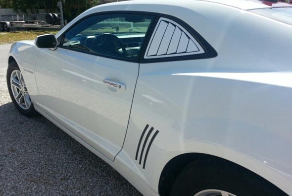 Louver Style Graphics Decals Fits Camaro 2010-2015