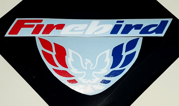 Limited Edition Custom Patriotic Red White & Blue Tail Light Filler Decal Fits Pontiac Firebird Formula Trans Am 1998-02 #patriotic