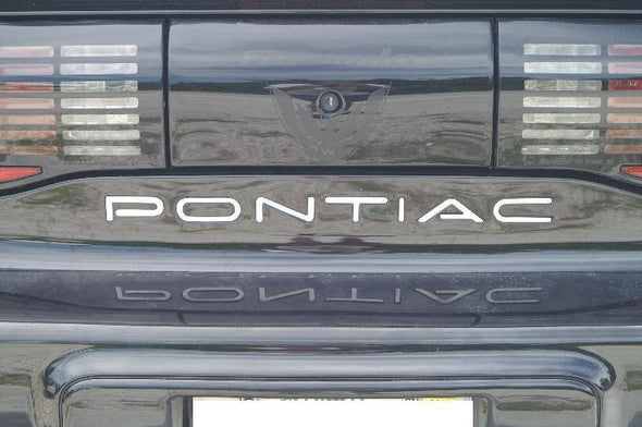Rear Bumper Inlay Decal Set Fits Pontiac Firebird Trans Am & Formula 93-02