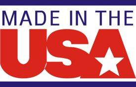 """Made In The USA"" Window Decal"