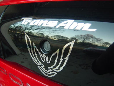 Chrome Rear Tail Light Graphic Decal Fits 1993-97 Pontiac Firebird Trans Am #transam