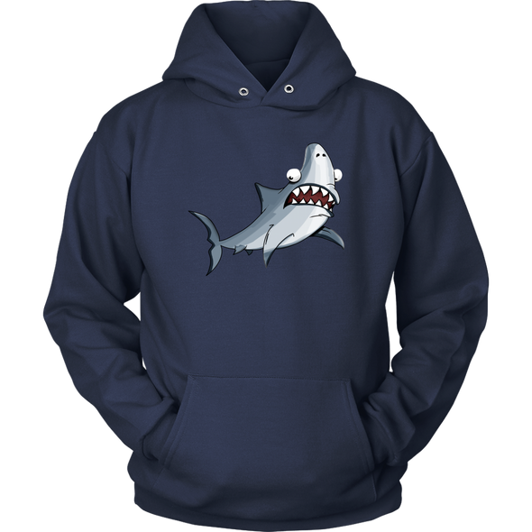 Shark Adult Unisex Hoodie - Multiple Sizes & Colors