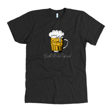 Beer To The Rescue Mens American Apparel T-Shirt