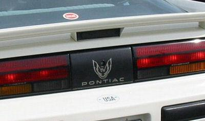 Rear Tail Light Filler Decal Fits Pontiac Firebird Trans AM GTA  85-92 ALL