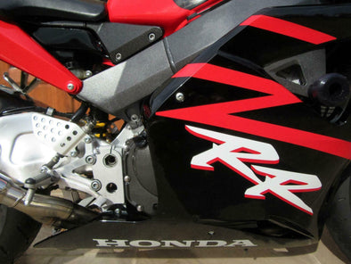 White on Red Honda RR Large Fairing Decal Set - Choose Your Color #hondaRR