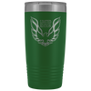 Trans Am Limited Edition Screaming Chicken Etched 20 Ounce Vacuum Tumbler - Green - Multiple Color Options