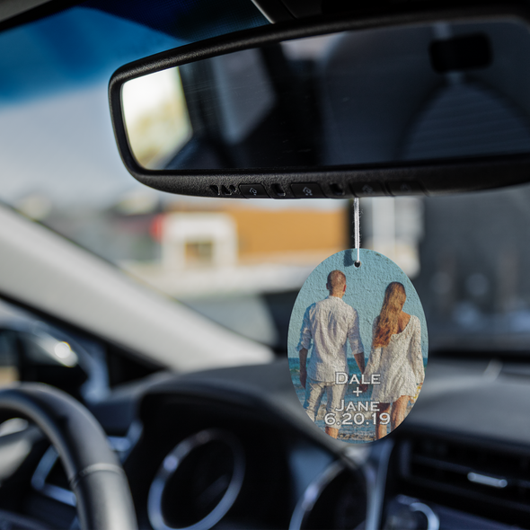 personalized air freshener for wedding engagement save the date