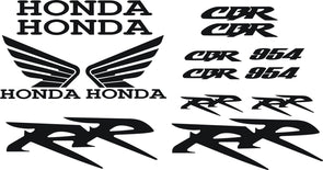 Honda CBR 954 RR Decal Set 2002 - 2006