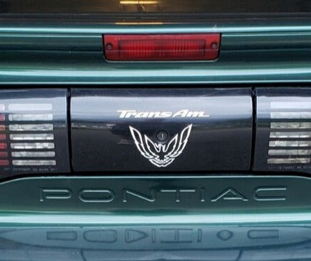 White Rear Tail Light Decal Fits Pontiac Trans Am Firebird Formula - 1993 to 1997 Style Bird #pontiac