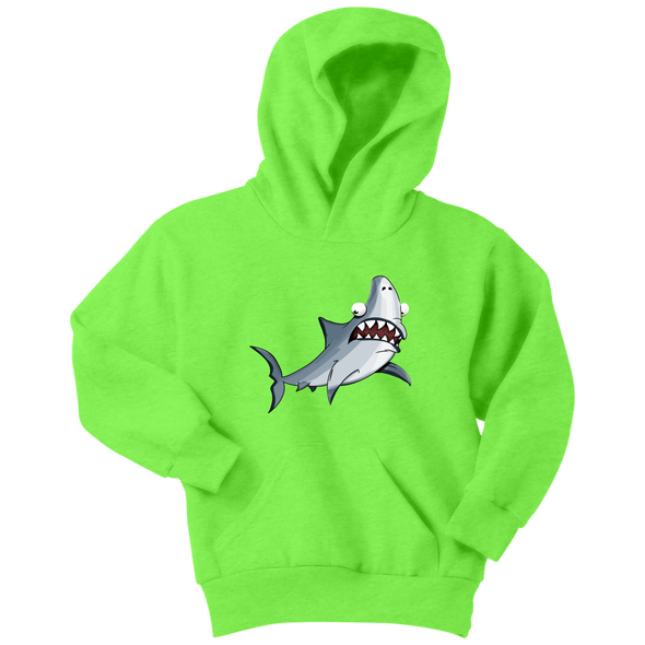 Shark Youth Hoodie - Multiple Sizes & Colors