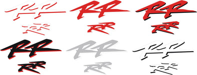 Honda RR Large Fairing Decal Set - Choose Your Color #hondaRR
