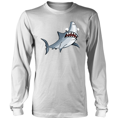 Shark Mens District Long Sleeve T-Shirt - Multiple Sizes & Colors
