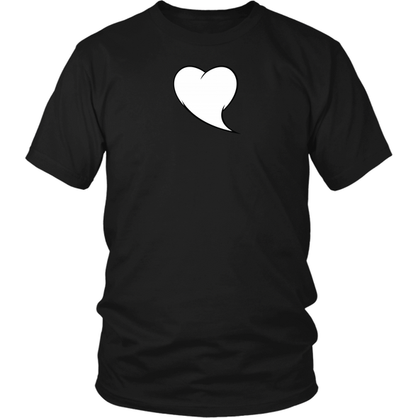 Heart Quote Bubble District Unisex Shirt - What's Your Heart Saying?