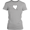Heart Quote Bubble District Womens Shirt - What's Your Heart Saying?