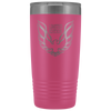 Trans Am Limited Edition Screaming Chicken Etched 20 Ounce Vacuum Tumbler - Pink - Multiple Color Options