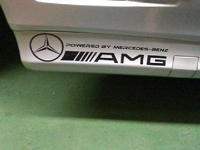 AMG Powered by Mercedes Decals for MB SL 500