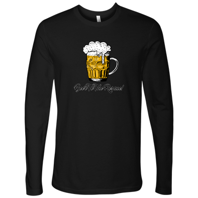 Beer To The Rescue Next Level Mens Long Sleeve T-Shirt