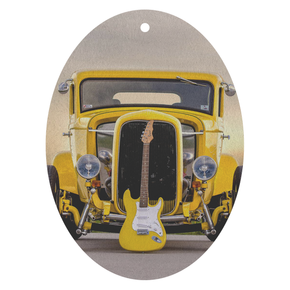 Hot Rod Guitar Air Freshener - 3 Pack - Choice of 13 Scents