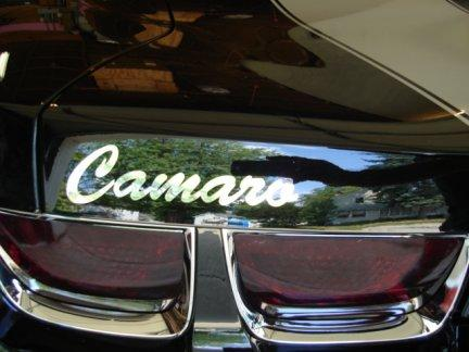 Rear Decklid Decals Fits Camaro 2010