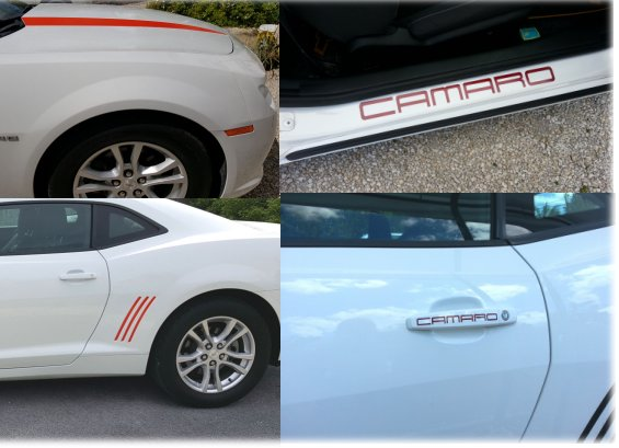 Ultimate Graphics bundle Fits Camaro 2010-2015 12 Pieces