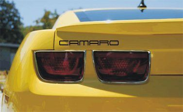 Modern Style Rear Decklid Decals Fits Camaro LS, RS, SS 20-10-UP
