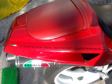 CAMPIONE DEL MONDO SUPERBIKE Tail Fairing Decals Fits Ducati 748 916