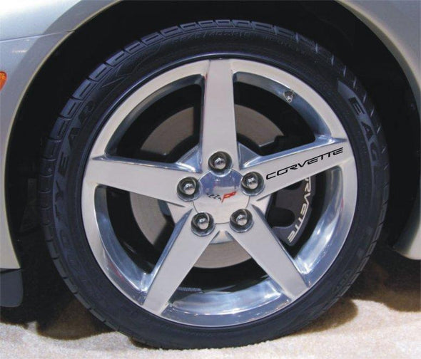 Corvette Wheel, Rim Decals