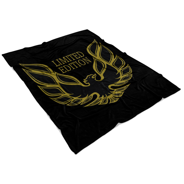 Trans Am Limited Edition Screaming Chicken Microfiber Fleece Blanket - Small, Medium or Large Sizes