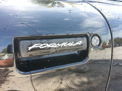 Door Handle Decal Set Fits Pontiac Formula, Firebird, Trans Am & Firehawk