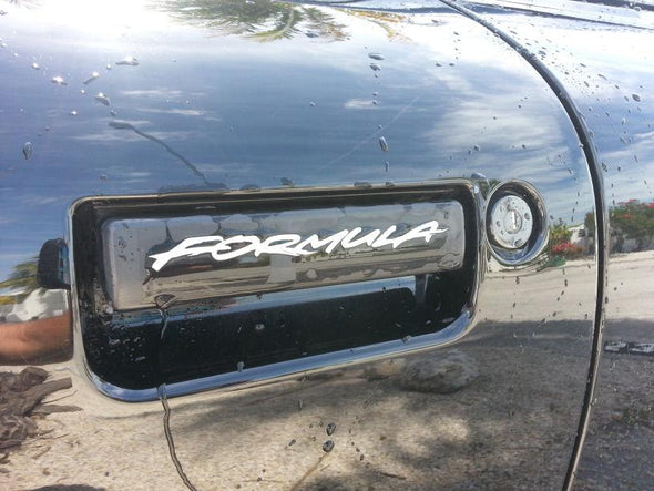 Door Handle Decal Set Fits Pontiac Formula, Firebird, Trans Am, Firehawk and WS6 #formula