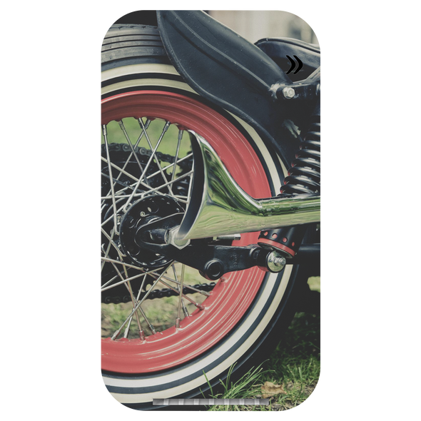Classic Motorcycle Prontimus Wireless Charging Stand with USB Cord