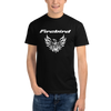 Custom Pontiac Firebird Tribal Screaming Chicken T-Shirt - Black Short Sleeve