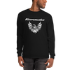 Tribal Design Screaming Chicken Pontiac Formula T-Shirt Long Sleeve Black