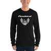 Custom Pontiac Firebird Tribal Screaming Chicken T-Shirt - Black Long Sleeve