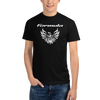 Tribal Design Screaming Chicken Pontiac Formula T-Shirt Short Sleeve Black
