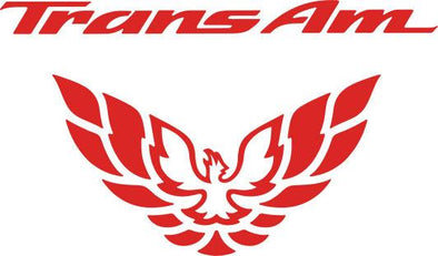 Pontiac Firebird Trans AM Tail Light Filler Decal Graphic 1998-2002