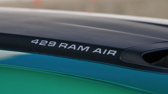 429 Ram Air Graphic Decals Fit 1971-73 Ford Mustang