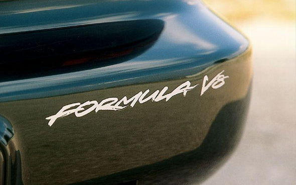 V8 Headlight & Rear Bumper Decals Fit Pontiac Firebird Formula 1993-1997