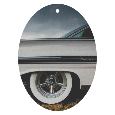 Classic Car Impala Under Stormy Sky Air Freshener - 3 Pack - Choice of 13 Scents
