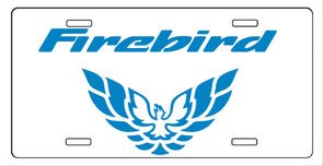 Pontiac Firebird Trans Am Formula Metal License Plate 1998-2002 Style